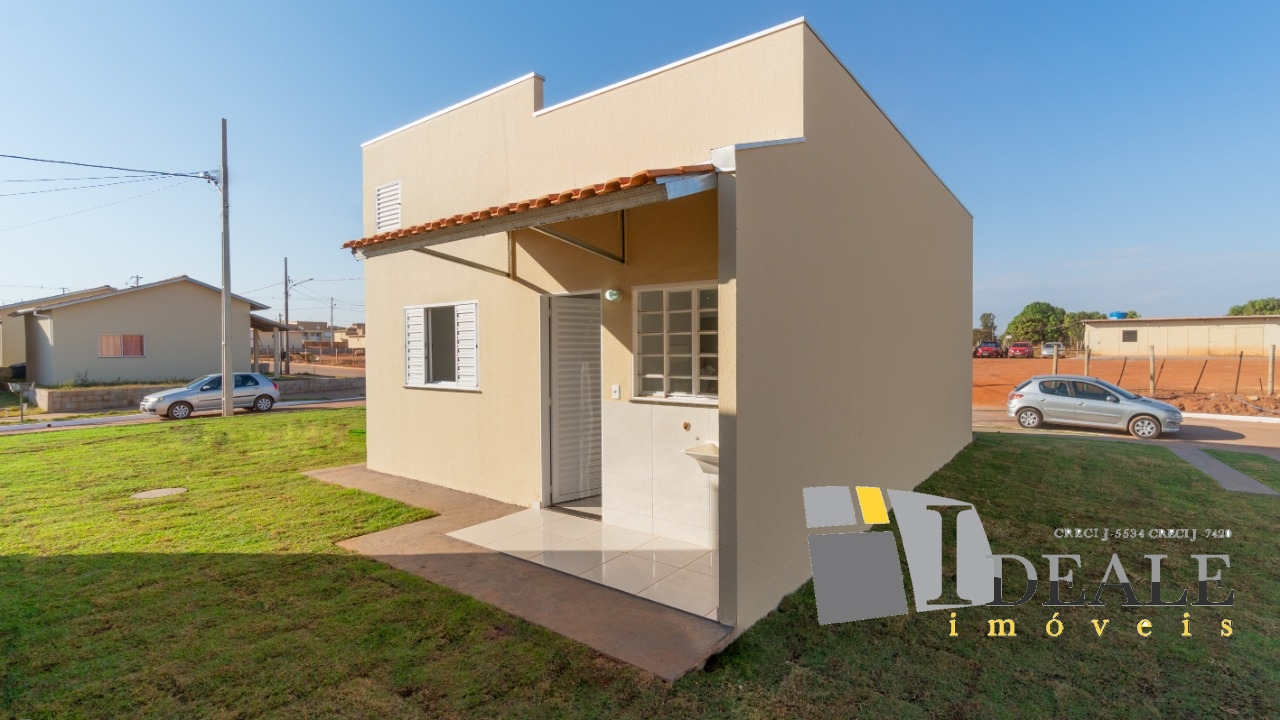 Casa  com 2 quartos no Paiaguás, Várzea Grande  - MT