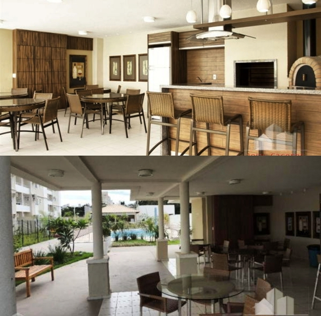 Apartamento à venda,  com 3 quartos sendo 1 suite no PIAZZA DI SIENA em Cuiabá MT 101 12197