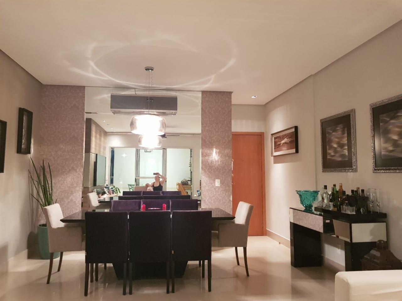 Apartamento à venda,  com 3 quartos sendo 3 suites no PORTAL DO BOSQUE em Cuiabá MT 101 12330