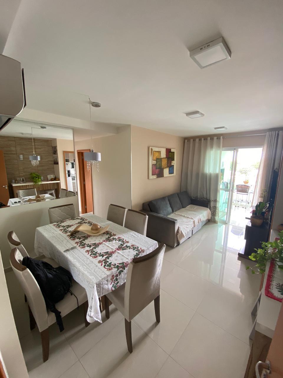 Apartamento à venda,  com 3 quartos sendo 1 suite no Jardim das Americas em Cuiabá MT 101 12533