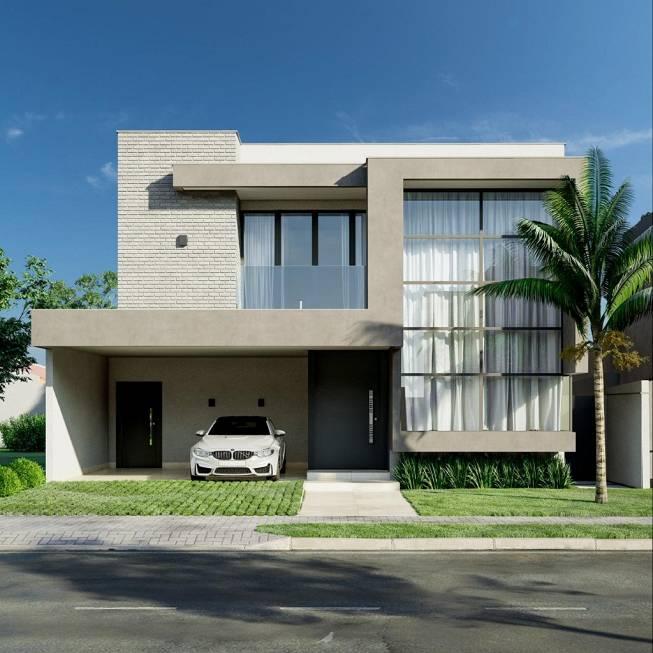 Casa Cond. Fechado  com 4 quartos sendo 4 Suítes no Jardim Imperial, Cuiabá  - MT