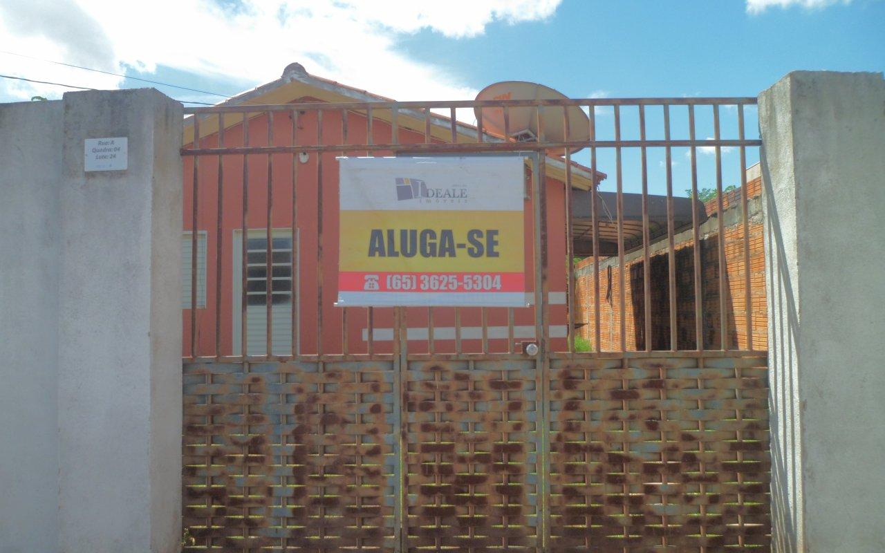 Casa para aluguel,  com 3 quartos no JOSE CARLOS GUIMARAES em Várzea Grande MT 101 12715
