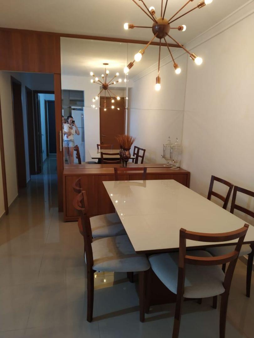Apartamento à venda,  com 3 quartos sendo 1 suite no Jardim Santa Marta em Cuiabá MT 101 12869