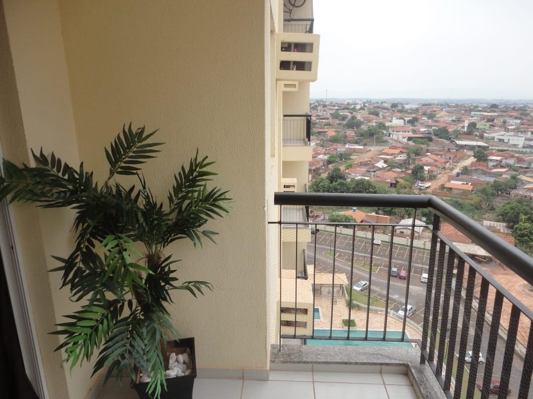 Apartamento à venda,  com 2 quartos sendo 1 suite no Morada do Ouro II em Cuiabá MT 101 12885