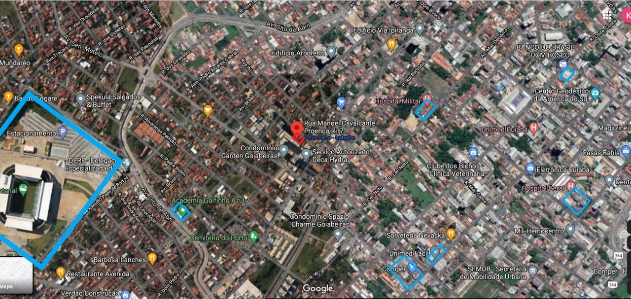 Área Urbana à venda,  no Goiabeiras em Cuiabá MT 101 12983