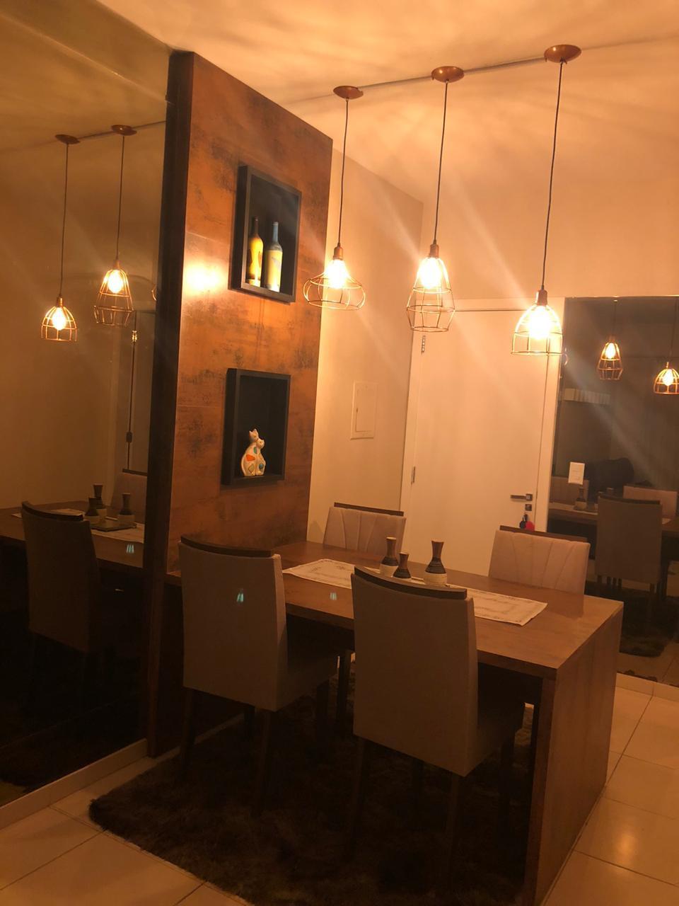 Apartamento à venda,  com 2 quartos sendo 1 suite no Jardim Bom Clima em Cuiabá MT 101 13130