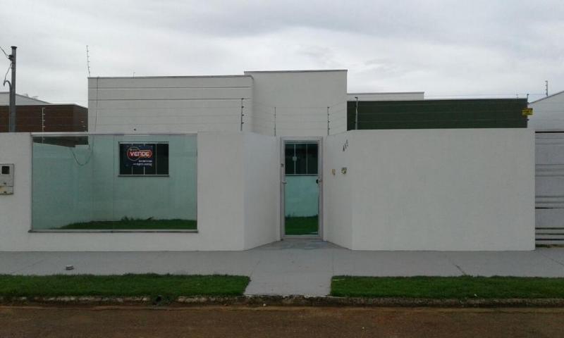 Casa  com 3 quartos sendo 1 Suíte no Jardim Luciana II, Primavera do Leste  - MT