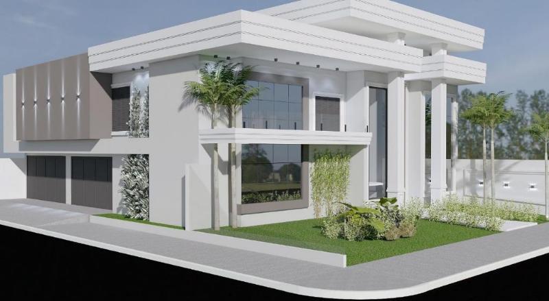 Casa  com 4 quartos sendo 4 Suítes no Jardim Riva, Primavera do Leste  - MT