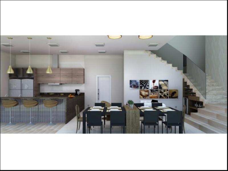 Casa  com 3 quartos sendo 3 Suítes no Ribeirão do Lipa, Cuiabá  - MT