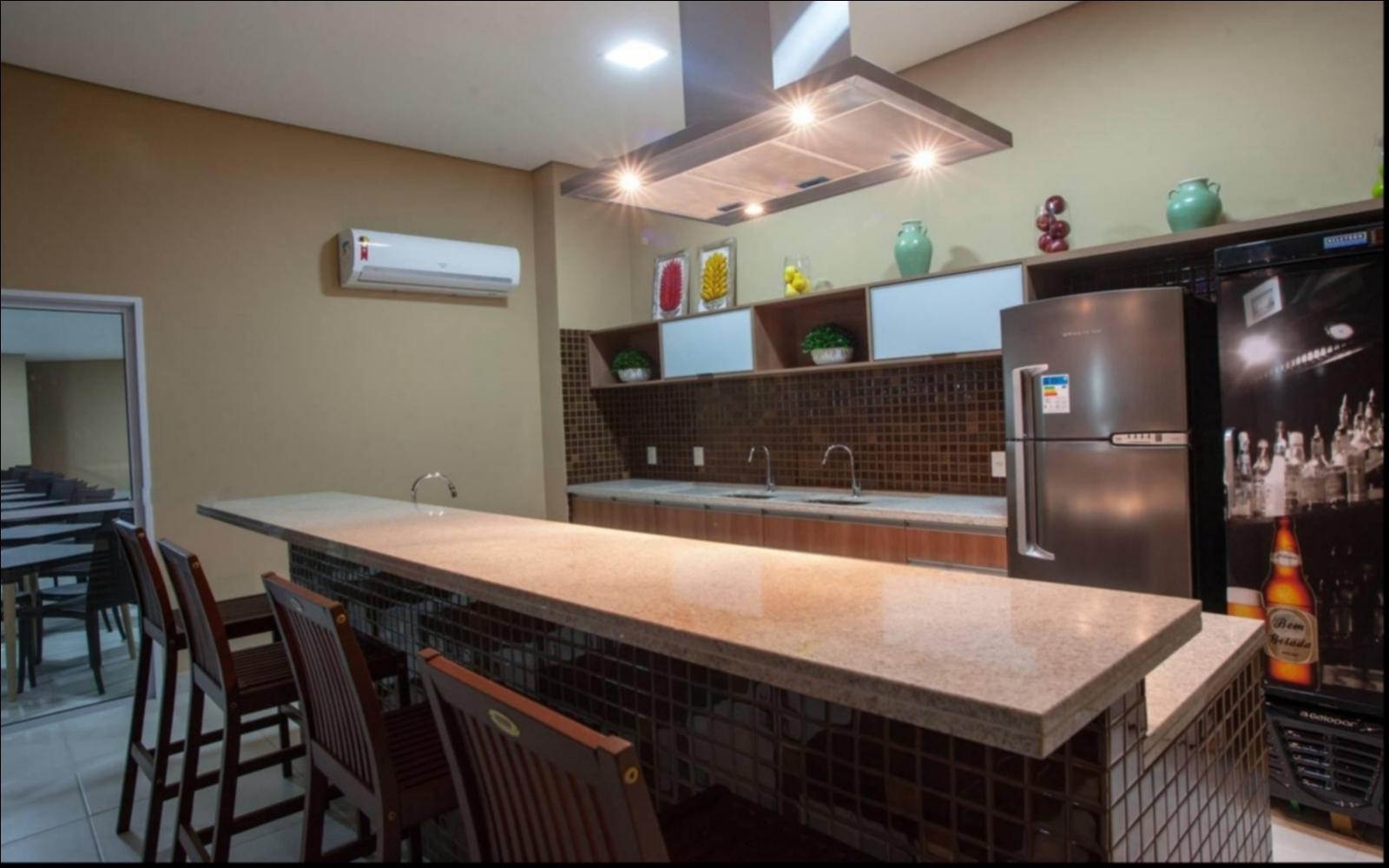 Apartamento  com 3 quartos sendo 1 Suíte no Carumbé, Cuiabá  - MT
