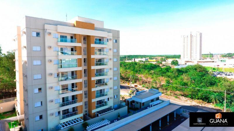 Apartamento  com 3 quartos sendo 2 Suítes no Despraiado, Cuiabá  - MT