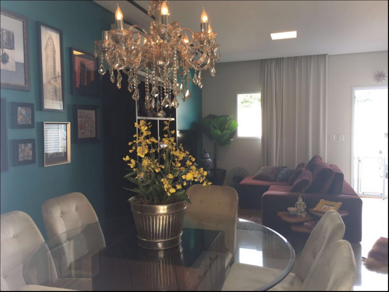 Casa Cond. Fechado  com 2 quartos sendo 1 Suíte no PORTO, Cuiabá  - MT