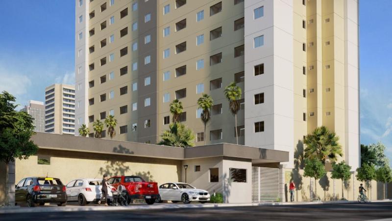 Apartamento  com 1 quarto sendo 1 Suíte no Morada do Ouro, Cuiabá  - MT