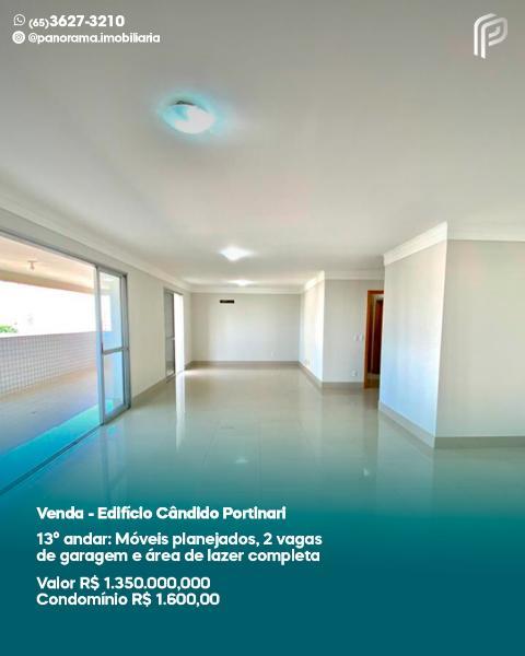 Apartamento  com 3 quartos sendo 3 Suítes no Duque de Caxias II, Cuiabá  - MT