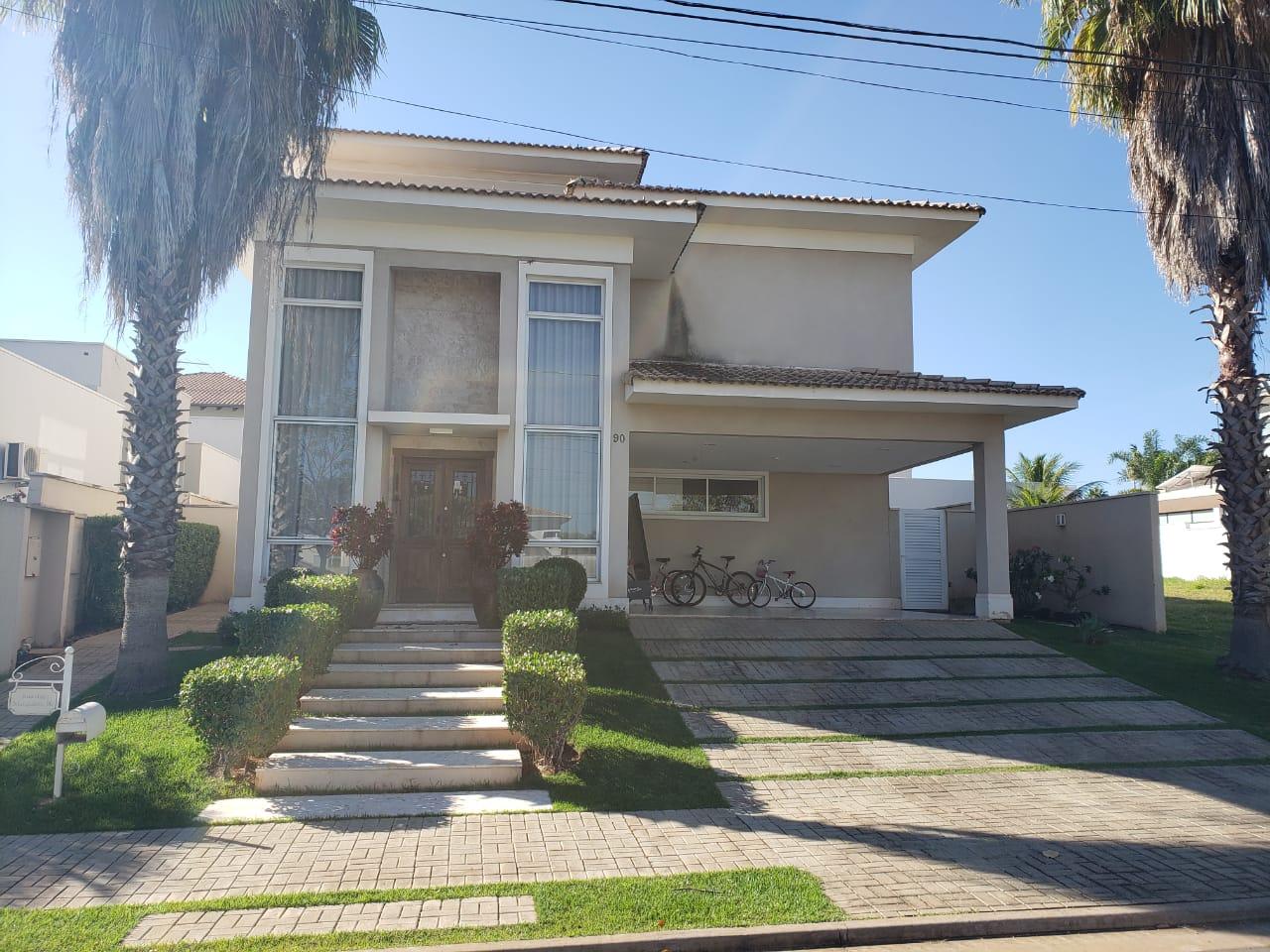 Casa Cond. Fechado  no Jardim Itália (Alphaville), Cuiabá  - MT