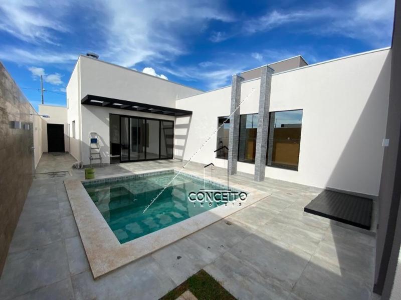 Casa Cond. Fechado  com 3 quartos sendo 3 Suítes no Florais ItÁlia, Cuiabá  - MT