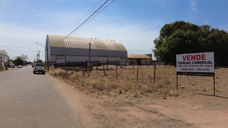 Terreno  no Distrito Industrial e Comercial Sul, Sinop  - MT