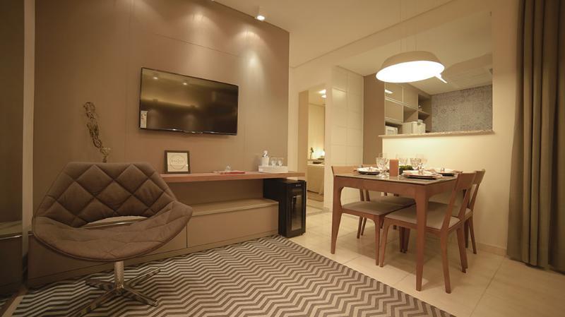 Apartamento  com 2 quartos no Chacara dos Pinheiros, Cuiabá  - MT