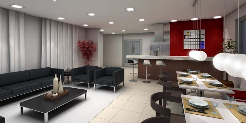 Apartamento  com 3 quartos sendo 3 Suítes no Jardim Aclimacao, Cuiabá  - MT