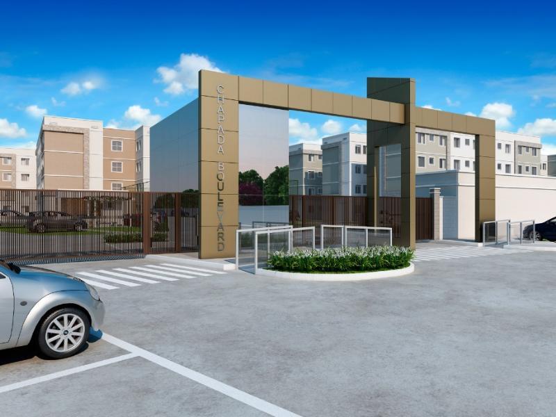 Apartamento  com 2 quartos no Bela Marina, Cuiabá  - MT