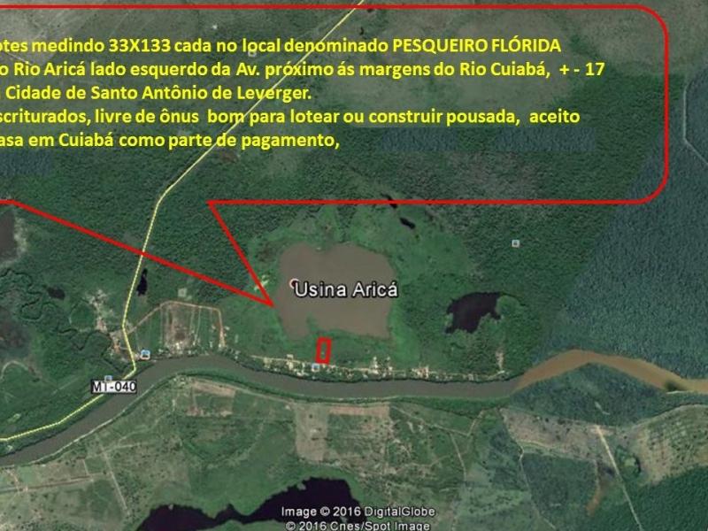 Chácara Sítio  com 1 quarto no zona rural, Santo Antônio do Leverger  - MT