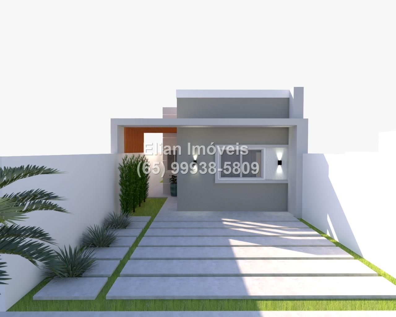 Casa Cond. Fechado  com 3 quartos sendo 1 Suíte no Santa Cruz, Cuiabá  - MT