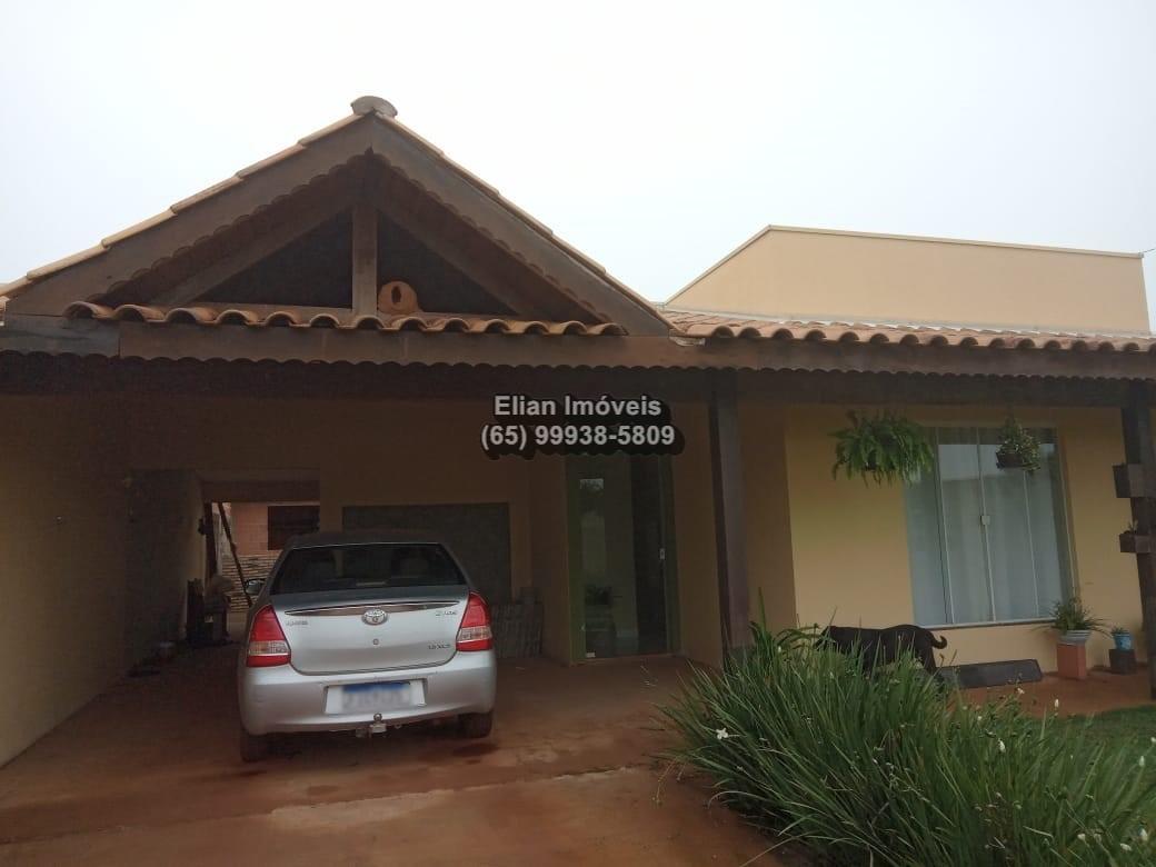 Casa  com 3 quartos sendo 1 Suíte no Mirantinho, Chapada dos Guimarães  - MT
