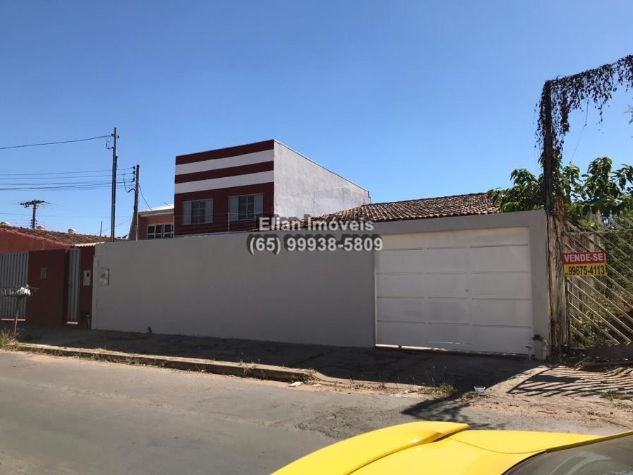 Casa  com 2 quartos sendo 1 Suíte no Boa Esperança, Cuiabá  - MT